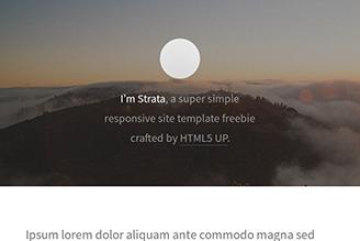 A responsive and minimal single-page portfolio.