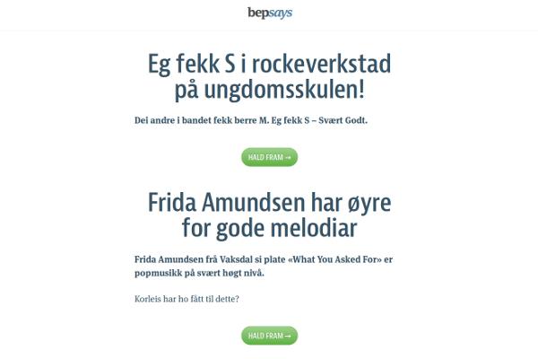 bep's blog