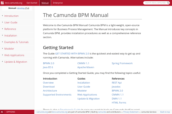 Camunda BPM Documentation
