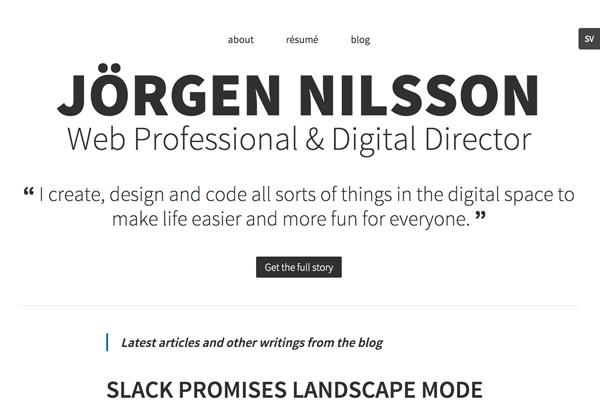 jorgennilsson.com