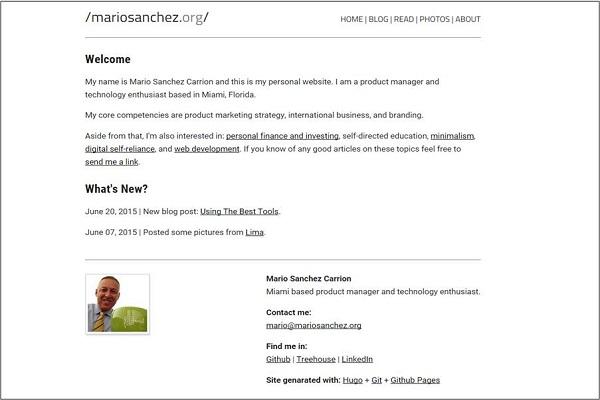mariosanchez.org